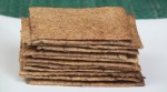 Thin & Crispy Rye Crackers