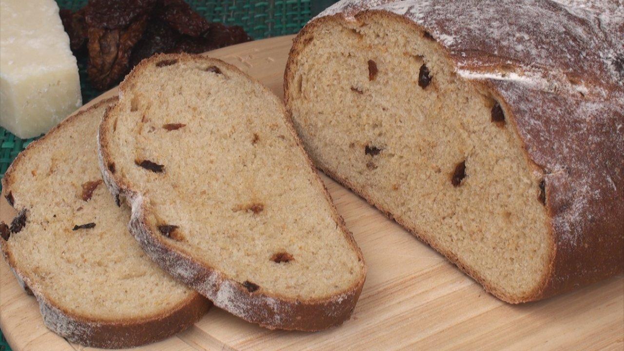 Sun Dried Tomato Bread with Parmesan Recipe - The Bread Kitchen
