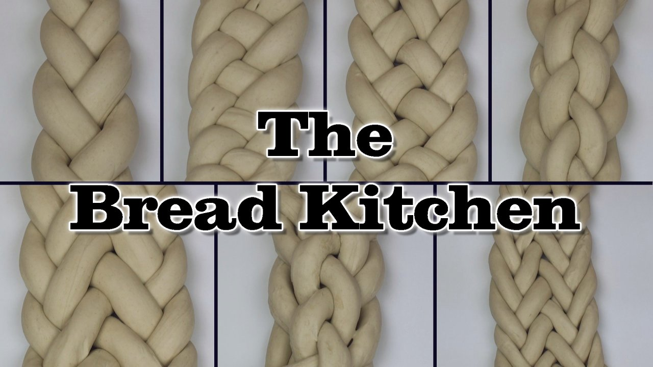 Swell How To Braid Bread Dough The Bread Kitchen Hairstyle Inspiration Daily Dogsangcom