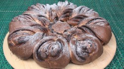 Nutella Brioche Flower