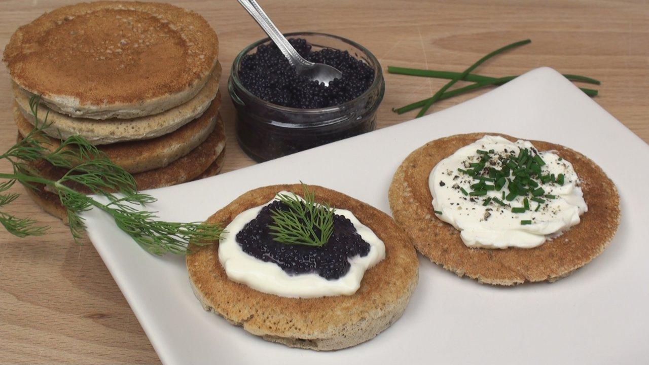 Buckwheat Blini Recipe - The Bread Kitchen