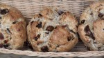 Date & Walnut Soda Bread Rolls