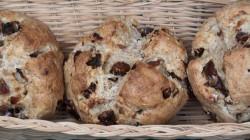 Date & Walnut Soda Bread Rolls