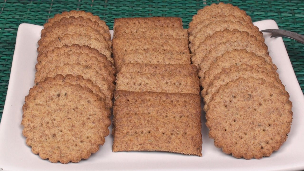Whole Wheat Crackers Recipe